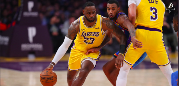 LeBron James, estrella de los Lakers.