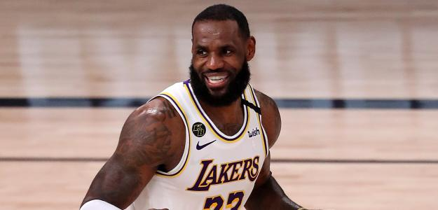 Lebron James habla tras ganar a Houston Rockets. Foto: gettyimages