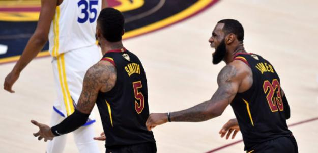 LeBron James abronca a JR Smith, trás su error en las Finales de 2018