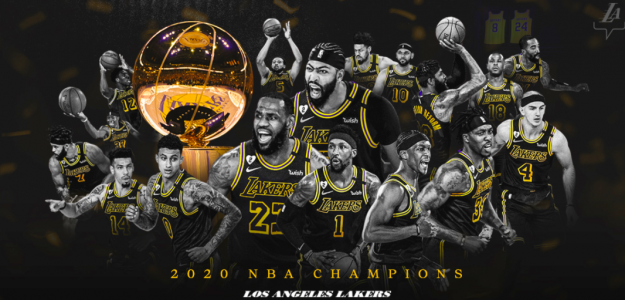 Los Angeles Lakers, campeones de la NBA.