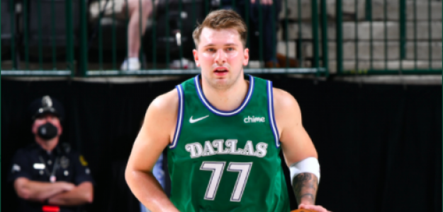 Luka Doncic, estrella de Dallas Mavericks.