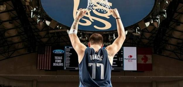 Luka Doncic, jugador de Dallas Mavericks.