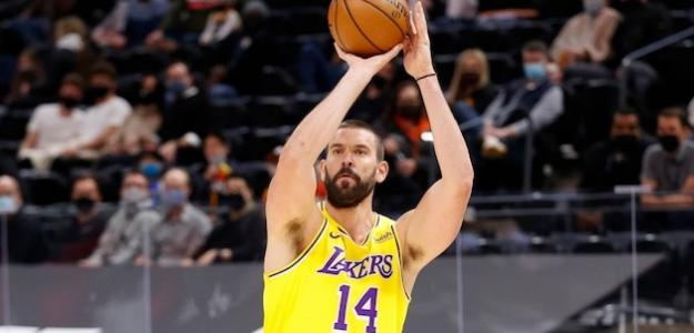 Marc Gasol, jugador de Los Angeles Lakers.