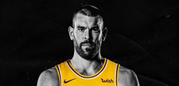 Marc Gasol, jugador de Los Angeles Lakers