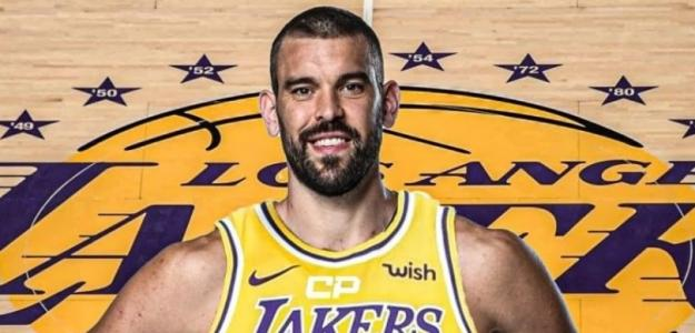 Marc Gasol, fichaje de Los Angeles Lakers.