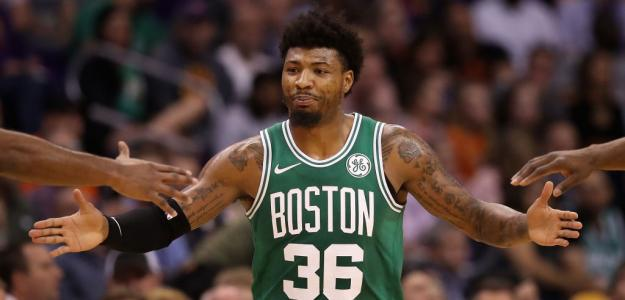 Marcus Smart, estrella de Boston Celtics.