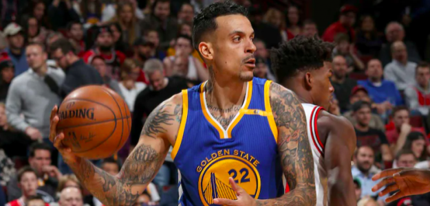 Matt Barnes, estrella de Golden State Warriors.