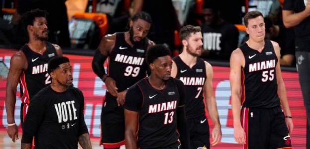 Miami Heat, deriva negativa en temporada 2021. Foto: gettyimages