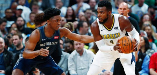 Nuggets y Pistons