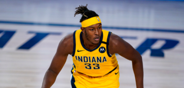 Myles Turner, pretendido por Golden State Warriors.