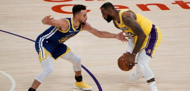 Stephen Curry contra LeBron James.