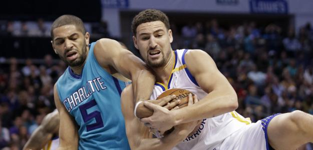Nico Batum, en un Warriors-Hornets.