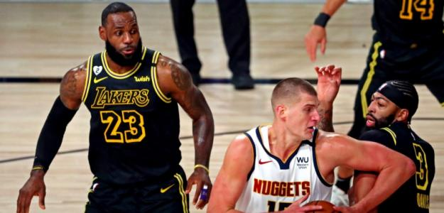 Nikola Jokic, sensaciones tras perder con Los Angeles Lakers. Foto: gettyimages