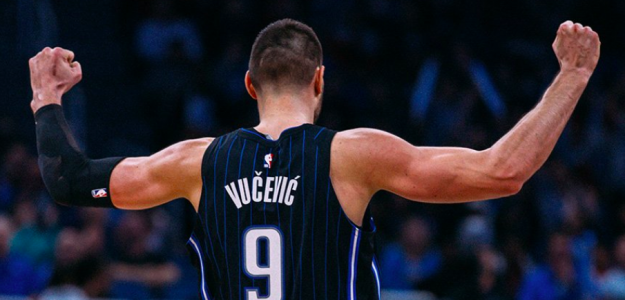 Nikola Vucevic, estrella de Orlando Magic.