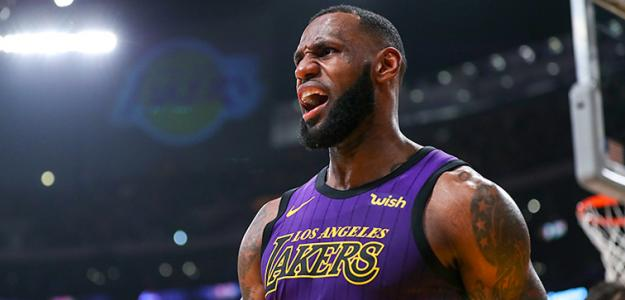 LeBron James, superestrella de la NBA