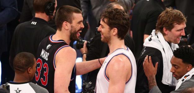Pau Gasol y Marc Gasol, en un All Star Game