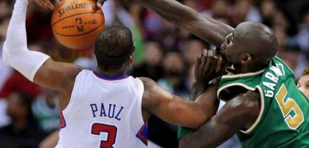 Chris Paul y Kevin Garnett