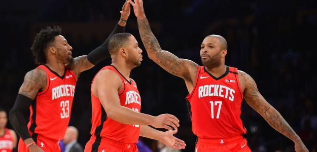 Robert Covington y P.J. Tucker