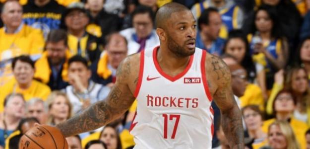 PJ Tucker, jugador de Houston Rockets.