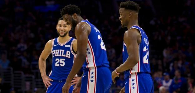 Embiid, Simmons y Butler | Foto: getty images