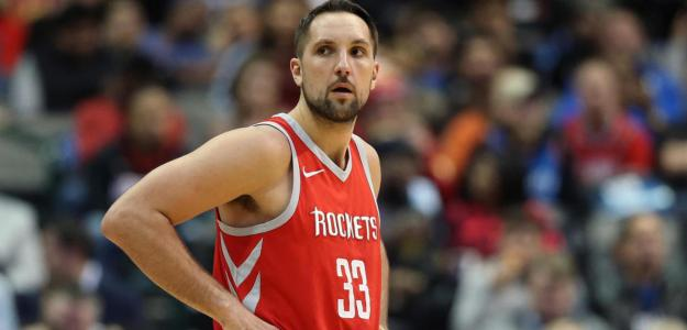 Ryan Anderson, con la camiseta de Houston Rockets.