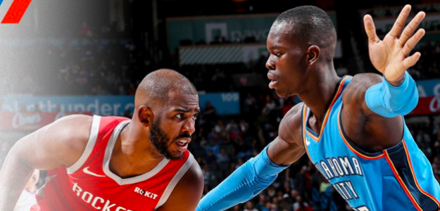 Chris Paul, ante Dennis Schroder.