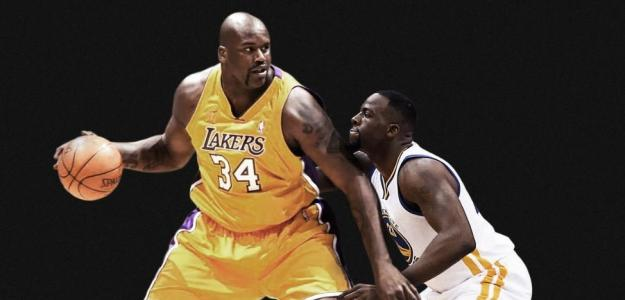 Shaquille O´Neal y Draymond Green. Foto: gettyimages