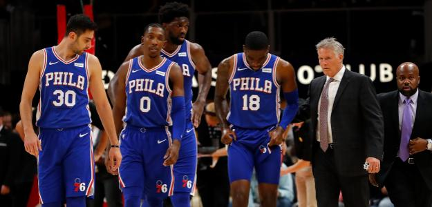Philadelfia 76ers quiere sorprender a Boston Celtics. Foto: gettyimages