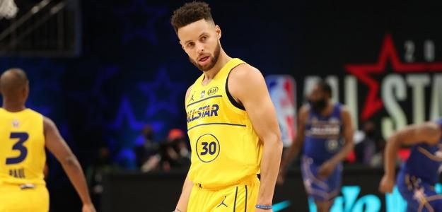 Stephen Curry, ganador del Concurso de Triples 2021.