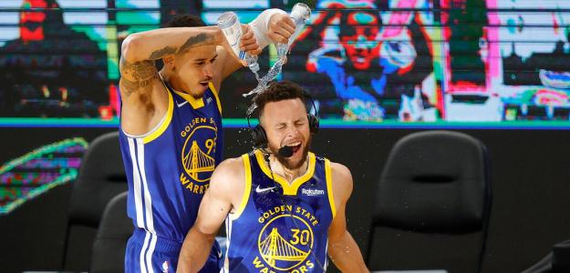 Stephen Curry, máximo anotador de la historia de Golden State Warriors.