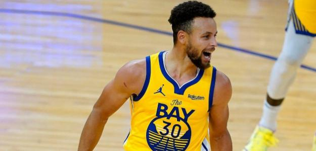 Stephen Curry, buenos números en 2021. Foto: gettyimages