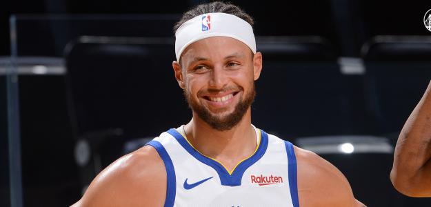 Stephen Curry, estrella de los Warriors. Foto: Getty.