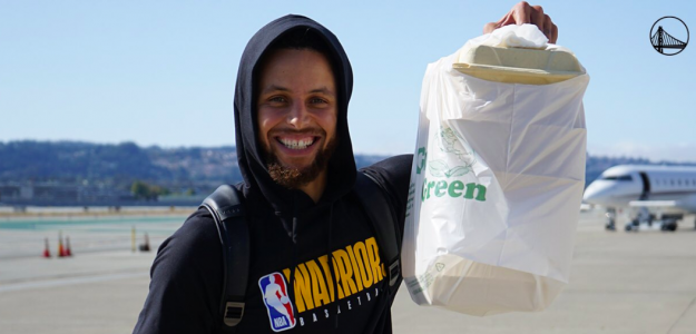Stephen Curry, estrella de los Warriors.