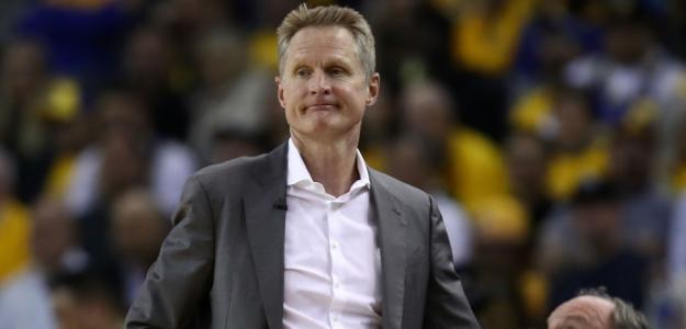 Steve Kerr, entrenador jefe de Golden State Warriors.
