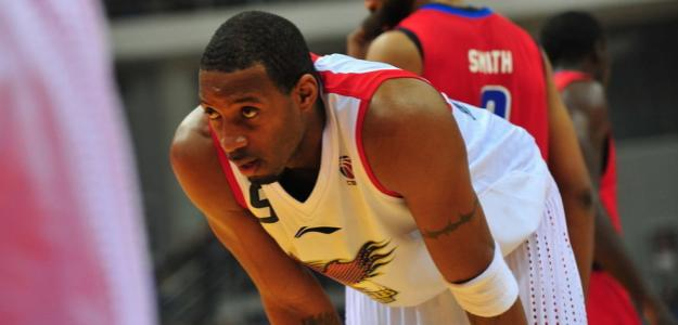 Tracy McGrady, en un partido de la liga china
