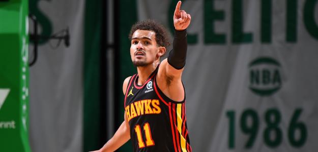 Trae Young, historia viva de la NBA por anotación. Foto: gettyimages