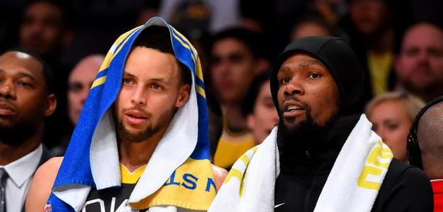 Kevin Durant y Stephen Curry | Foto: getty images