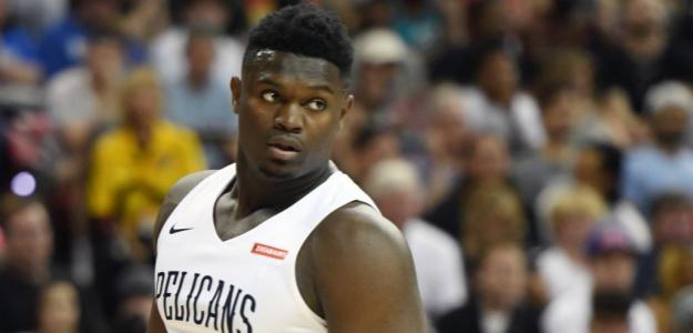 Zion Williamson, gran atractivo de la NBA. Foto: gettyimages