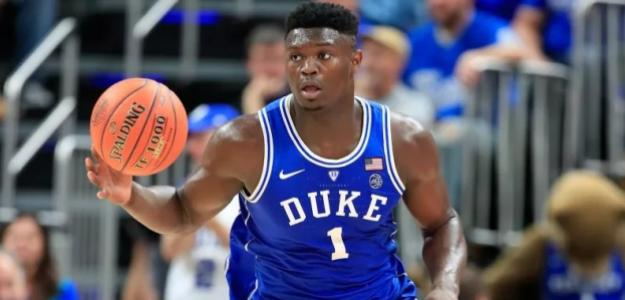 Zion Williamson, jugador de la Universidad de Duke.