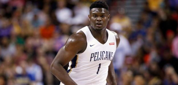 Zion Williamson, jugador de New Orleans Pelicans.