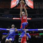 76ers y Clippers